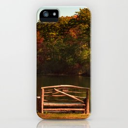 Fall shows us how beautiful it is to let things go iPhone Case