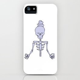 Tranquil meditation iPhone Case