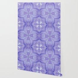 Jade Agate Stone Flower Violet Wallpaper