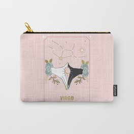 Virgo Zodiac Series Carry-All Pouch