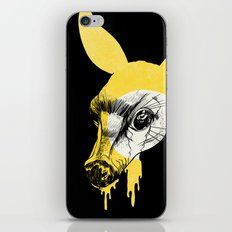 Fawn in Headlight iPhone Skin