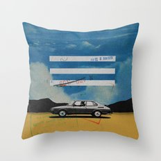 W. Rong | Collage Throw Pillow