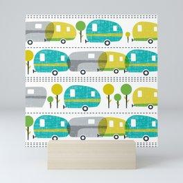 Caravan Mini Art Print