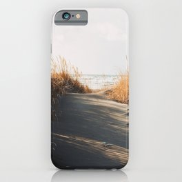 Trail to the beach iPhone Case