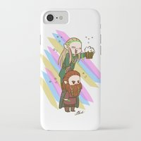 legolas iPhone & iPod Cases featuring Party Legolas and Gimli  by BlacksSideshow