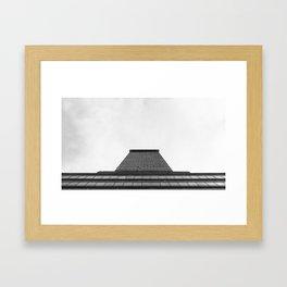 One. Framed Art Print