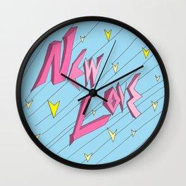 """""""New Love"""" Wall Clock"""