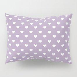 Lavender 2 hearts Pillow Sham