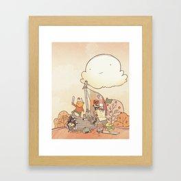 Smallwoods Pirates Framed Art Print