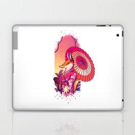 Kimono Kitsune Laptop & iPad Skin