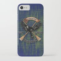 quidditch iPhone & iPod Cases featuring Ravenclaw team captain quidditch by JanaProject