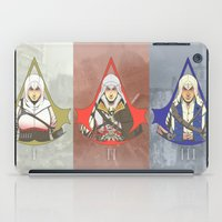 assassins creed iPad Cases featuring Master Assassins by Guialou