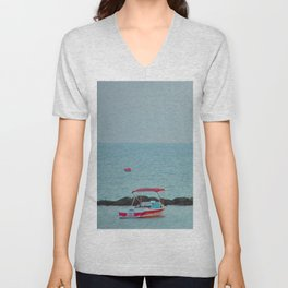 Between Sea and Sky Unisex V-Neck