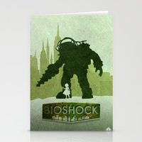 bioshock Stationery Cards featuring Vector Bioshock by LoweakGraph