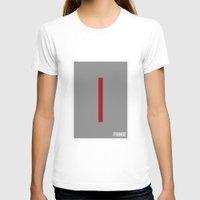 fringe T-shirts featuring Fringe - Minimalist by Marisa Passos