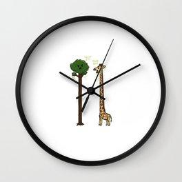 Evolution is a Jerk Wall Clock