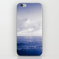 calm day 06 ver.navy iPhone & iPod Skin