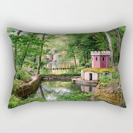 Valley of the Lakes Rectangular Pillow