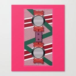 Minimalist Hoverboard Canvas Print