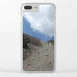 A Walk On The Mountain Clear iPhone Case