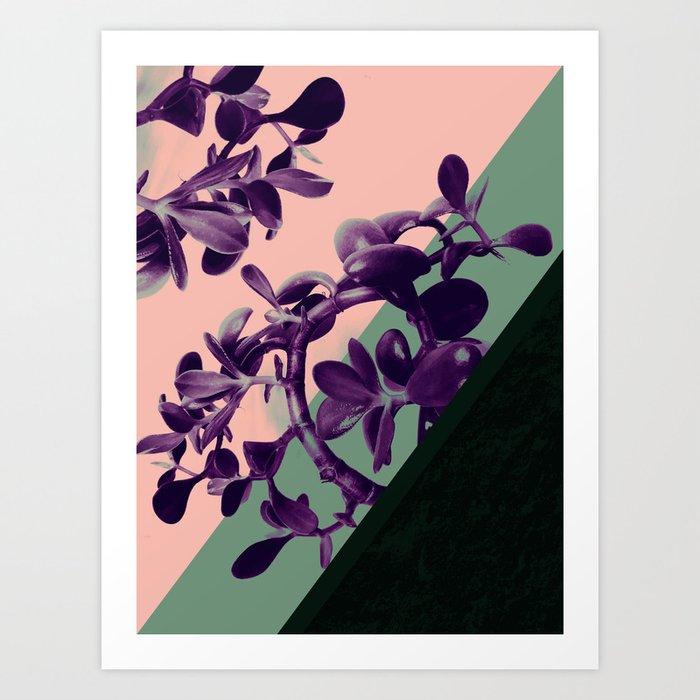 Jade there Art Print
