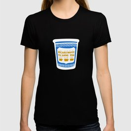 New York Deli Coffee Pattern T-shirt