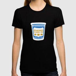 New York Deli Coffee Pattern T-shirt