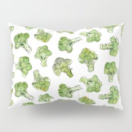 Broccoli - Scattered Pillow Sham