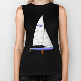 470 Olympic Sailboat Biker Tank