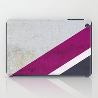 concrete iPad Cases featuring Concrete Shadows by cafelab