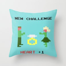 New challenge Throw Pillow