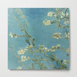 Vincent Van Gogh - Almond Blossoms Metal Print
