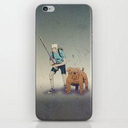 Time for Adventuring iPhone Skin