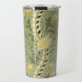 "William Morris ""Daffodil"" Travel Mug"