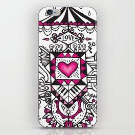 LOVE grows calliope iPhone Skin