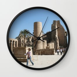 Temple of Luxor, no. 28 Wall Clock