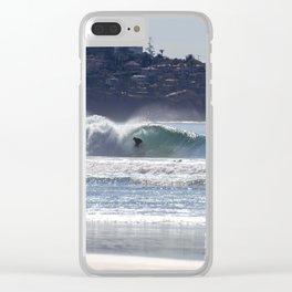 Blacks Beach Clear iPhone Case