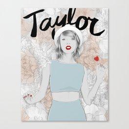 Tay Tay Swift Canvas Print
