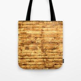 Grunge Rustic Wood pattern Tote Bag
