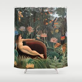 Henri Rousseau - The Dream Shower Curtain