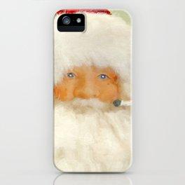 St Nick iPhone Case
