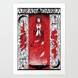 ABRAHADABRA Art Print