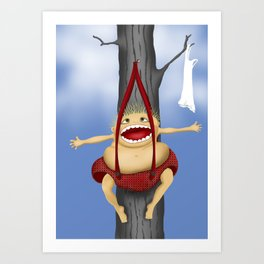 use your imagination... Art Print