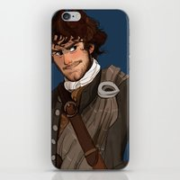 outlander iPhone & iPod Skins featuring Sing me a song by Theanimatedlife