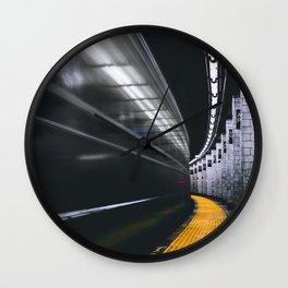 The Subway (Color) Wall Clock