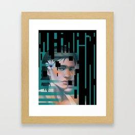 Censor Me Completely Framed Art Print