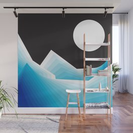 January Moon Wall Mural