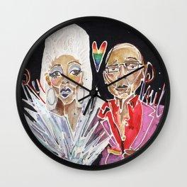 Ru Paul Wall Clock