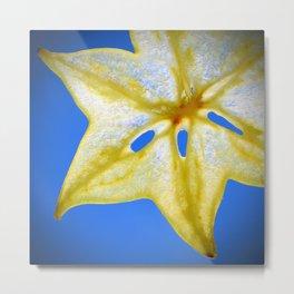 Star Fruit Metal Print