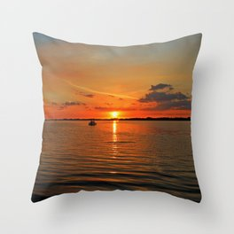 Grasping at Memories Throw Pillow